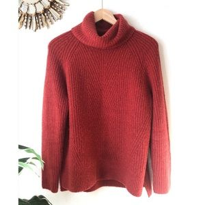 Madewell | Chunky Turtleneck Sweater Size Small